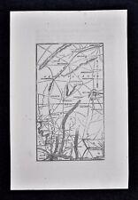 1862 WV MAP Berkeley Springs Alderson Barrackville Ona WEST VIRGINIA CIVIL WAR
