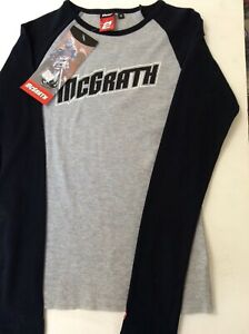 THOR MCGRATH LONG SLEEVE SIZE MEDIUM TEE DIRT BIKE MX