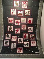 "Beauville French Kitchen Tea Towel Chamonix Winter Holiday 20"" X 31"" Christmas"
