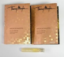 Thierry Mugler Miroir Des Majestes EDP .04oz Sample x2