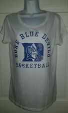 Duke Blue Devils Basketball vintage tissue tee t-shirt. Adidas XL