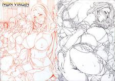 [Oda Non] NON VIRGIN 【Limited Edition】 CHRONICLE-FULLCOLOR BOOKLET-SIDE:TORA