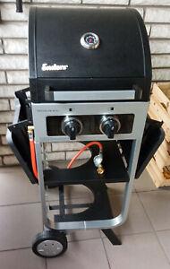 Enders gas grill Brooklyn next 2 im Grillwagen integriert