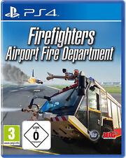 PS4 Airport Feuerwehr - Die Simulation NEU&OVP Playstation 4 Firefighters Fire