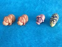 Kinder Surprise Carving Toy Figures Rare  gnomes
