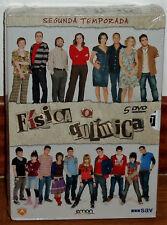FISICA O QUIMICA 2º TEMPORADA COMPLETA 5 DVD PRECINTADO NUEVO (SIN ABRIR) R2