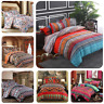 Duvet Cover Quilt Cover Fitted Sheet Pillow Case Bedding Set Single Double King