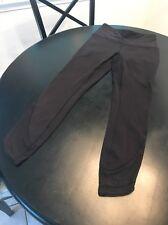 Lululemon High Times 7/8 Size 6 Black Leggings