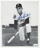 TIGERS Billy Bruton signed 8x10 photo JSA COA AUTO Autographed Detroit Braves