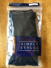 """SIMPLY STYLED by SEARS Mens size (Small) Briefs 2 pack S/C 29""""-31"""""""