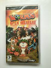 Worms: Open Warfare For Sony PSP (New & Sealed)