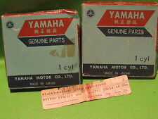 YAMAHA XS1 XS2 TX650 XS650B 70-75 PISTON RING SETS 3RD OS. OEM #256-11610-30-00