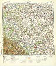 Russian Soviet Military Topographic Maps - LVIV (Ukraine), 1:500 000, ed.1980