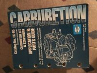 CARBURETOR APPLICATION AND PARTS GUIDE ALL PASS IMPORTS FARM INDUST AND MARINE
