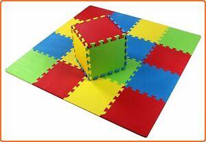 Kids Foam Play Mat Baby Crawling Activity Gym Crawl Infant Floor Carpet 16 Tile