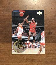 Michael Jordan 1995-96 Upper Deck Rookie Years 84-85 #137 Chicago Bulls HOF