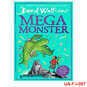 Megamonster: mega new laugh-out-loud children's book by David Walliams NEW