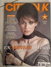 Magazine Citizen K Winona Ryder Eté 2013