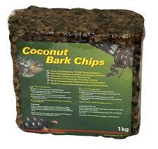 1kg Lucky Reptile Coconut bark block soak to make 10L 100% natural - tortoise