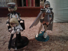 Gundam and Shining Wind figure lot, used
