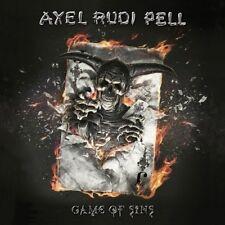 AXEL RUDI PELL - GAME OF SINS/LTD.  CD NEUF