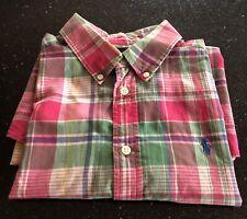 Boy's Ralph Lauren Short Sleeved Shirt - Size L