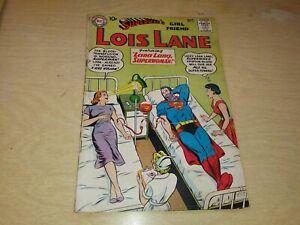 Superman's Girlfriend Lois Lane #17 DC Comics 1960 Vintage