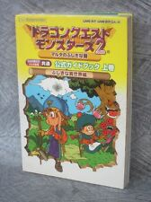 DRAGON QUEST MONSTERS 2 Guide #2 Game Boy Book EX97*
