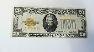 $20 Gold Certificate Series of 1928