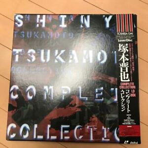 SHINYA TSUKAMOTO Complete Collection BOX 4 LD JAPAN Laserdisc