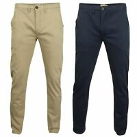 Mens Stretch Chino Trousers by Tokyo Laundry 'Horizon'