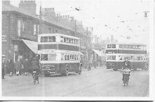 Manchester Corporation Buses Hyde Road Belle Vue 1931 postcard