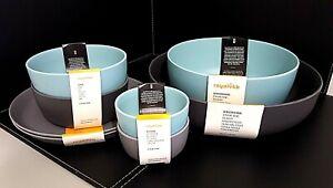 Coles Picnicware Royal Vkb Complete Set - 8 Items - Picnic Ware - Bowls & Plates