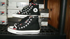 Converse All Stars - Guitar Pick Low Upper High Shoe 4 8 9  Black Red Gray