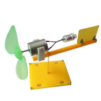 Mini Wind Generator Miniature Wind Turbine Modello Set Kit Strumento