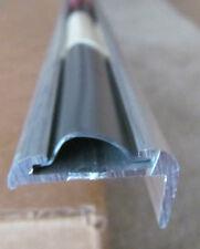 """92"""" Aluminum Vinyl Insert Type Corner Molding RV Trailer 1"""" Leg x 1 1/4"""""""