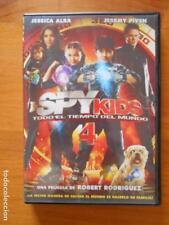 DVD SPY KIDS 4 - TODO EL TIEMPO DEL MUNDO - JESSICA ALBA - JEREMY PIVEN (D6)