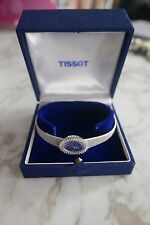 MONTRE DE FEMME TISSOT EN OR BLANC 18K MADE IN SWISS