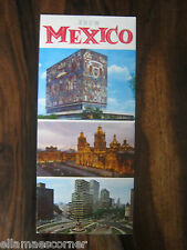 1965 Know Mexico Travel Brochure Mexican National Tourist Council
