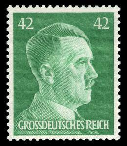 EBS Germany 1944 - Hitler Head - 42 Pfennig - Hitlerkopf - Michel A795 MNH**