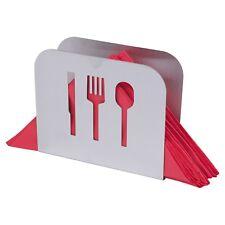 Stainless Steel Serviette Holder Napkin Dispenser Kitchen Dining Room Table