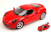Alfa Romeo 4C 2013 Red 1:24 Model 0335 WELLY