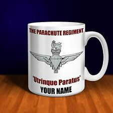 The Parachute Regiment Personalised Ceramic Mug Gift