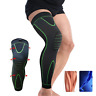 Long Knee Brace Support Compression Sleeve Patella Stabilizer Sports Gym Joint A