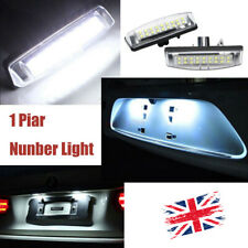 2X White LED License Number Plate Light 1999-2005  For LEXUS IS200/300 Toyota UK