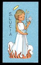 santino-holy card*S. LUCIA V.M. 1