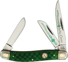 Celtic Irish Good Luck Stockman Folding Pocket Knife by Brian Wilhoite Bwc34