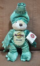Hard Rock Cafe Plush Orlando Herrington Bear w/ Tag - Alligator 2005 Limited Ed.