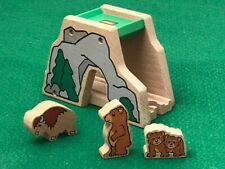 BRIO FOREST TUNNEL & ANIMALS  for THOMAS & Friends Wooden Railway TRAIN TOY set