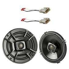 "2x Polk 6.5"" 300W 2 Way Marine Speakers, 2x Metra Connector (Select Toyota)"